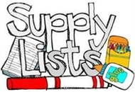 2017 - 2018 School Supply List